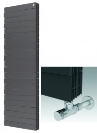 Радиатор ROYAL THERMO Piano Forte Tower, Noir Sable (18-секц.)