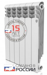 Радиатор ROYAL THERMO Revolution Bimetall 350 4 сек