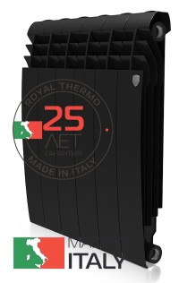 Радиатор ROYAL THERMO BiLiner 500 Noir Sable 8 сек