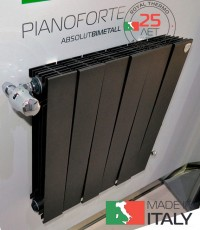 Радиатор ROYAL THERMO Piano Forte 500 Noir Sable 6 сек